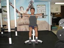 rotator cuff exercise - cuban press rotation