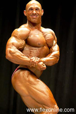Bodybuilder Sean Calder