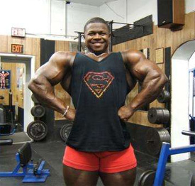 Bodybuilder Sean Jones at the Gym