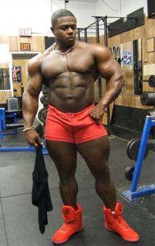 Bodybuilder Sean Jones