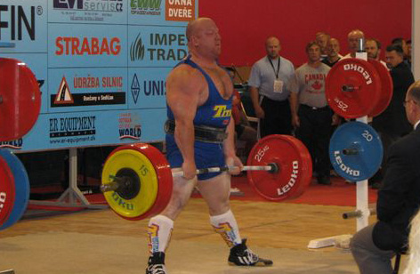 Powerlifter Shawn OHalloran