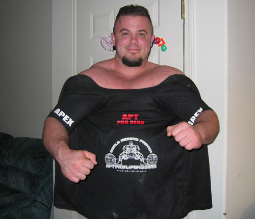 APEX Bench Press Shirt From APT Pro Gear - Single Ply