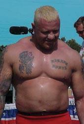 World's Strongest Man Strongman Competitor Svend Karlsen