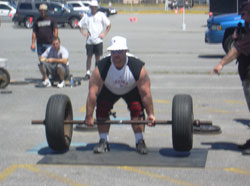 Axle Deadlifts