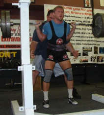 Older Pic of Eric Talmant Powerlifter