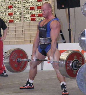 upper body exercise - deadlift