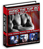 Avoid the top 20 gym screw ups - instant muscle gains