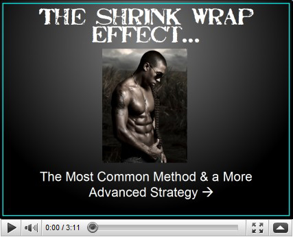 Rusty Moore's Visual Impact Muscle Building Shrink Wrap Effect