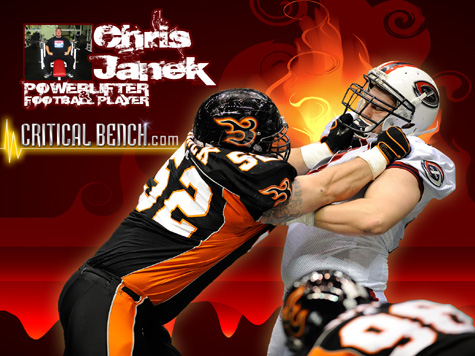 AFL Football Player Chris Janek
