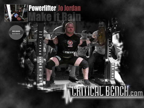 Powerlifter Jo Jordan Wallpaper