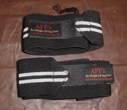 Pro Wrist Straps for Powerlifting