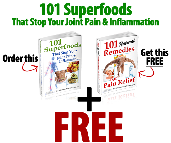 101 superfoods and 101 remedies for pain releif