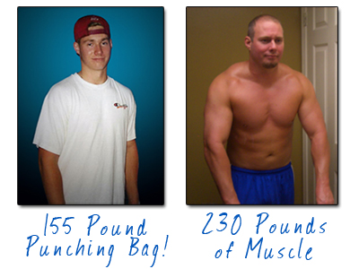 Mike Westerdal Before and After