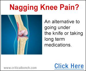 nagggin knee pain?