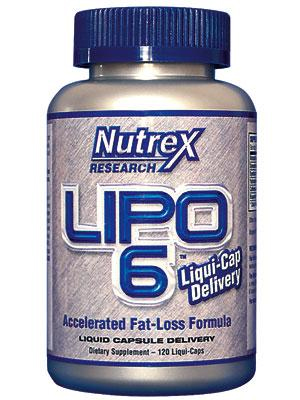 Nutrex Lipo 6 Supplement Review