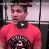 Instantly Increase Your Bench Press! (Try This Tip Now)