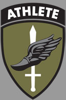 military athlete logo
