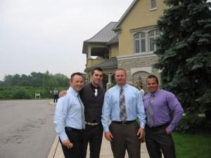 Patrick McGuire, Dave Ruel, Mike Westerdal, Lee Hayward