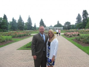 My Wife Courtney & I Before Ceremony
