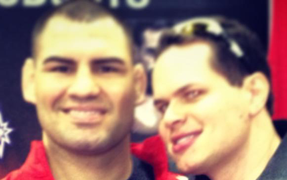 UFC Heavy Weight Champ, Cain Velasquez