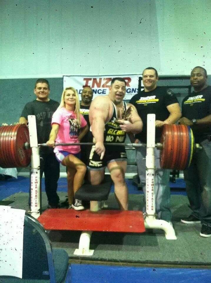 Tiny meeker interview 1st man to bench press over 1 100 lbs