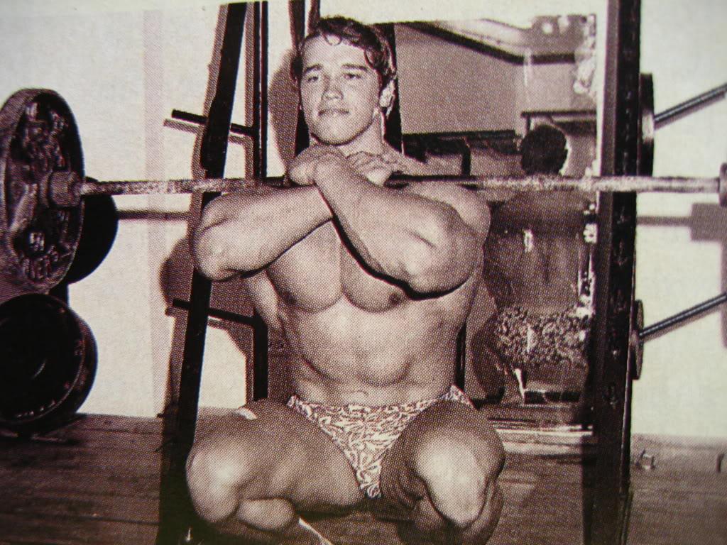 Arnie Front Squat