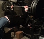 Dan Schwab Benches 405 Pounds Using Critical Bench 2.0