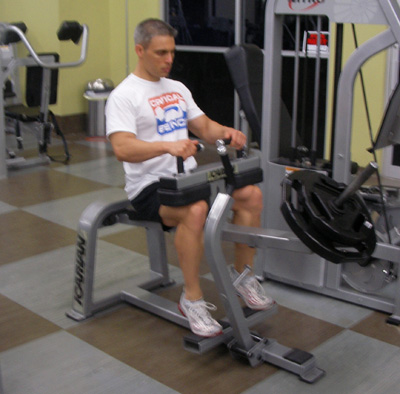 Seated Calf Raise Machine Exercise And Video