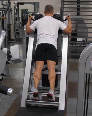 Standing Calf Raise Exercise