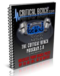 Programme Critical Bench 2.0