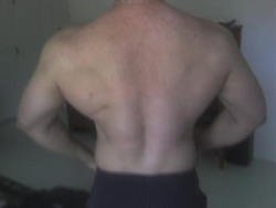 Danny Aguirre Back Muscles