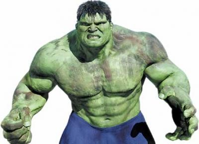 The Incredible Hulk is Incredibly Huge and Gaining Weight Fast