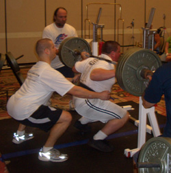 competing in powerlifting