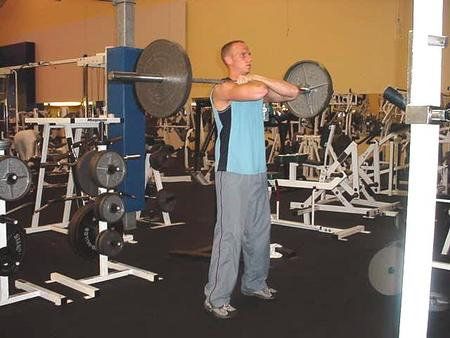 Hard Body Exercise the Front Squat