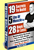 How to gain muscular weight - 19 secrets to build 5 lbs of muscle