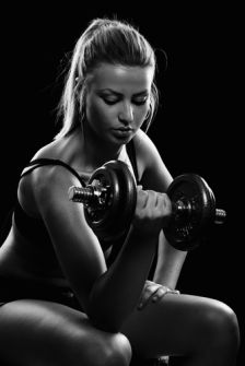 rock body fitness weight lifting exercises  muscle