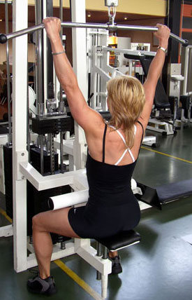 Increase The Efficiency and Effectiveness Of The Lat Pulldown