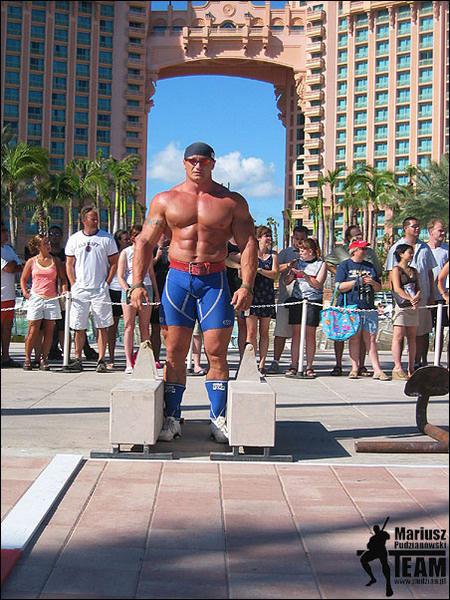 World S Strongest Man Competitor Mariusz Pudzianowski