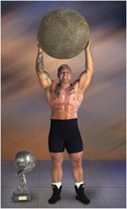 World S Strongest Man Strongman Competitor Svend Karlsen