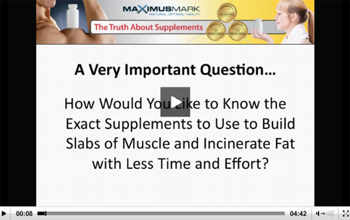 Truth About Supplements Video